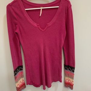 Free People long sleeve thermal